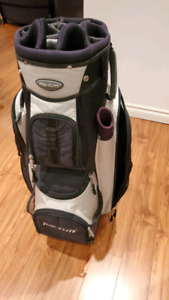 Top Flite Golf Bag with 14 separate compartment for clubs