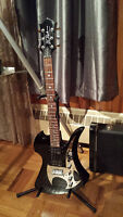 Mockingbird Special edition guitar+hard case+amp