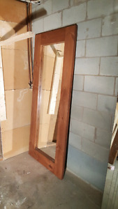 Miroir neuf en bois