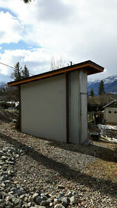 Contemporary Style Storage Shed