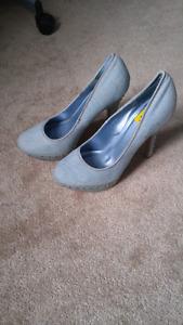 Jean shoes. Size 10