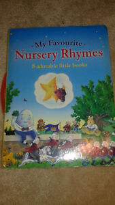 Collection of 8 nursery rhyme board books in excellent condition