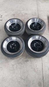 17 inch 4x100 fast wheels