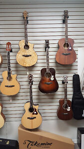New Line of Ibanez Acoustic Guitars