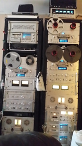 VINTAGE AUDIO-VIDEO IN LOT'S  FOR SALE/COLLECTOR'S ITEAMS