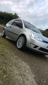 Ford Fiesta silver 1.4 petrol