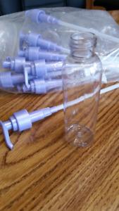 Pump bottles