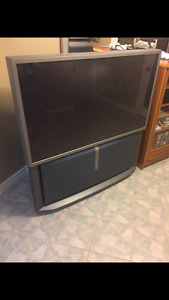 57 inch Sony Rear Projection TV in full working order