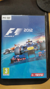 F1 Formula 1 2012 Racing Game for PC on DVD