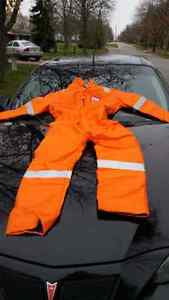 HEAVYDUTY WINTER PIONEER FIREMASTER SAFETY COVERALLS