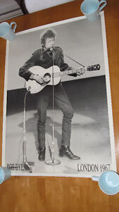 "Bob Dylan ""London 1967"" poster (25 by 35) - excellent condition"