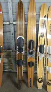 Wooden water skis Windsor Region Ontario image 4