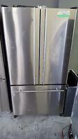 Réfrigérateur 3 portes françaises stainless SAMSUNG inox fridge