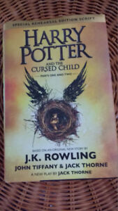 """Roman """"Harry Potter and the Cursed Child"""", J.K. Rowling"""