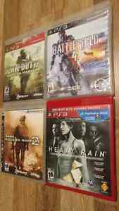 4 PS3 GAMES IN EXCELLENT CONDITION