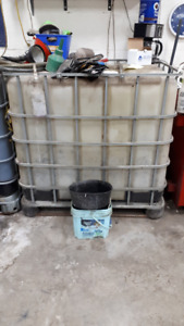 Waste Oil Cube Container