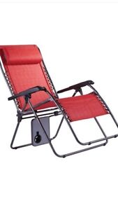Moving Sale - Red Patio Chairs