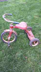 Antique kids tricycle