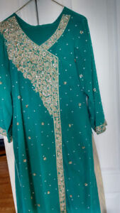 Women and Men Pakistani Fancy Shalwar Qameez