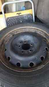Winter tires with rims 450$obo