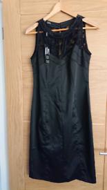Brand new black, size 14, Julian Mcdonald cocktail dress