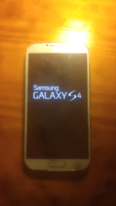 Samsung galaxy s4 (unlockable) (with bell)