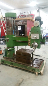 2001 CHALLENGER RADIAL ARM DRILL PRESS