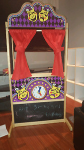 Puppet theater and puppets