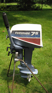 7.5HP Evinrude Outboard Motor 1981