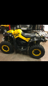 Factory Can Am Renegade tires