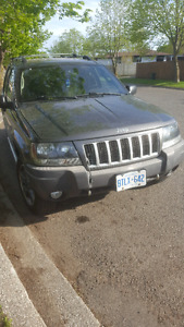 04 Grand Cherokee 4.7l H.O 4x4 sold as is!