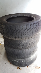 4 x 16'' Winter Tires (P205 / 60R16)