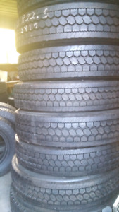 NEW 11R22.5 GOODYEAR TRANSPORT TRUCK tires