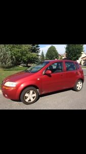 Chevy Aveo GREAT CONDITION 120km!!