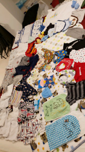 New born stuff/ clothes more than 50 pieces