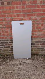 LARGE DOUBLE SIDED PLAIN GREY ADVERTISING BOARDS