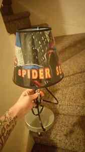 Spider man lamp