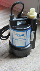 Pompe submersible (sump pump) STAR