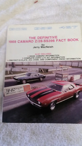 Book: DATE CODES for 1969 Camaro Z28 SS 396