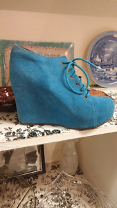 Jeffrey Campbell suede shoes