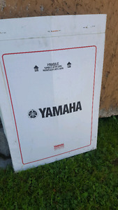 Yamaha windshield