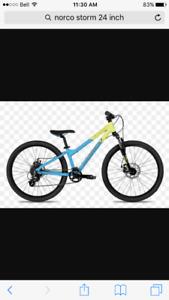 Norco 24inch mountain bikes