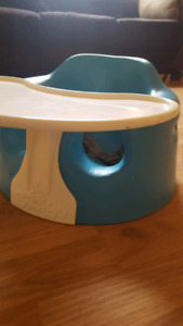 Bumbo chair with Bumbo chair tray