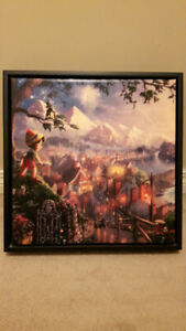 (BOYLE) Disney Pinocchio Wishes Upon a Star / Thomas Kinkade