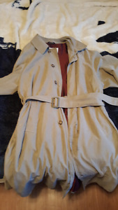 London Fog Trench Coat For sale