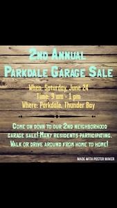 Yard sale. 9-1. Sat June 24. 123 reindeer ave
