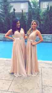 Beautiful Neutral Bridesmaid Dress for sale! (S-M)