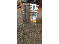 2- Tier Suction Corner Basket