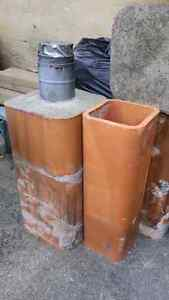 Clay chimney liners