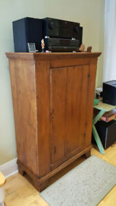 Canadiana - Antique Pine Armoire